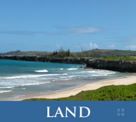 Maui Luxury Oceanfront Beachfront and Golf Course Vacant Land and Developer Lots