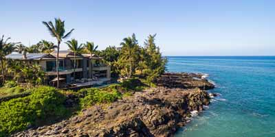Luxury Oceanfront Front Homes in Hawaii and around the World for sale