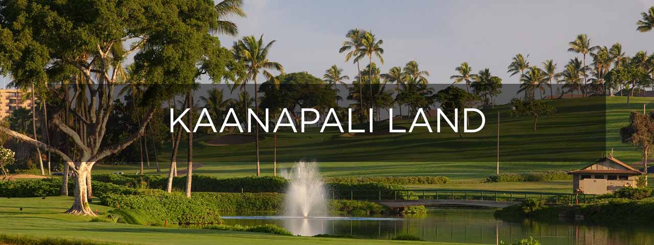 Maui, Estate Sites for Sale in Kaanapali