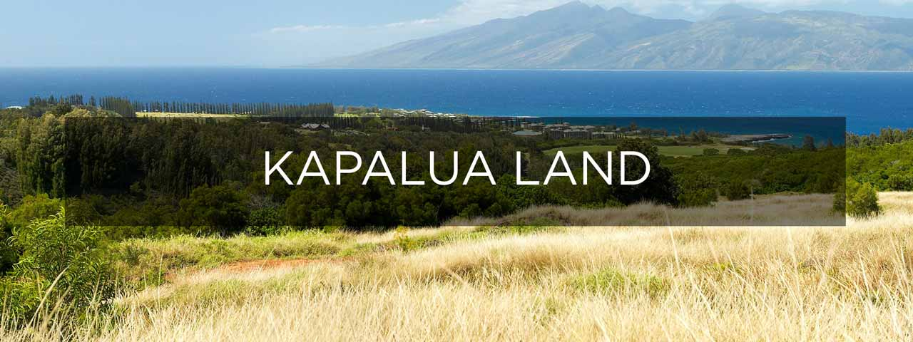 Maui, Estate Sites for Sale in Kapalua